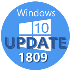 Windows 10 1809 October Upgrade
